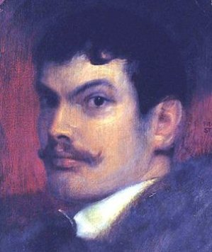 Self Portrait Franz von Stuck - (1863 - 1928)