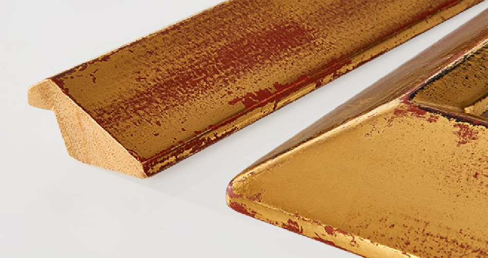 GOLD COLLECTION: canaletto red gold 40x22mm