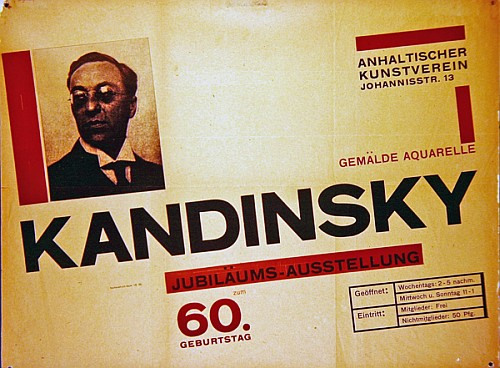 Ad board of Kandinsky