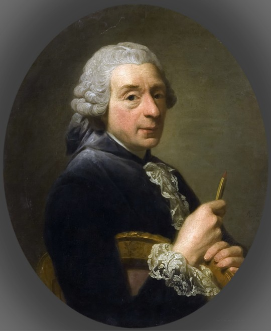 Portrait of François Boucher