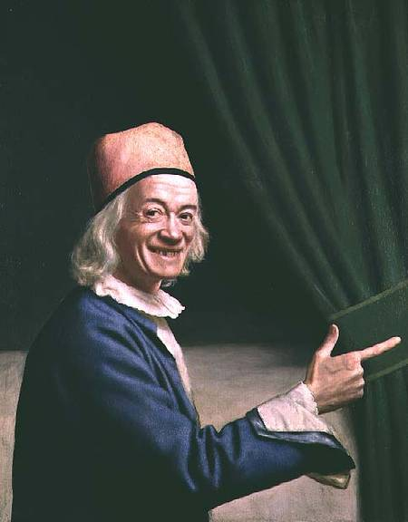 Portrait of Jean-Étienne Liotard