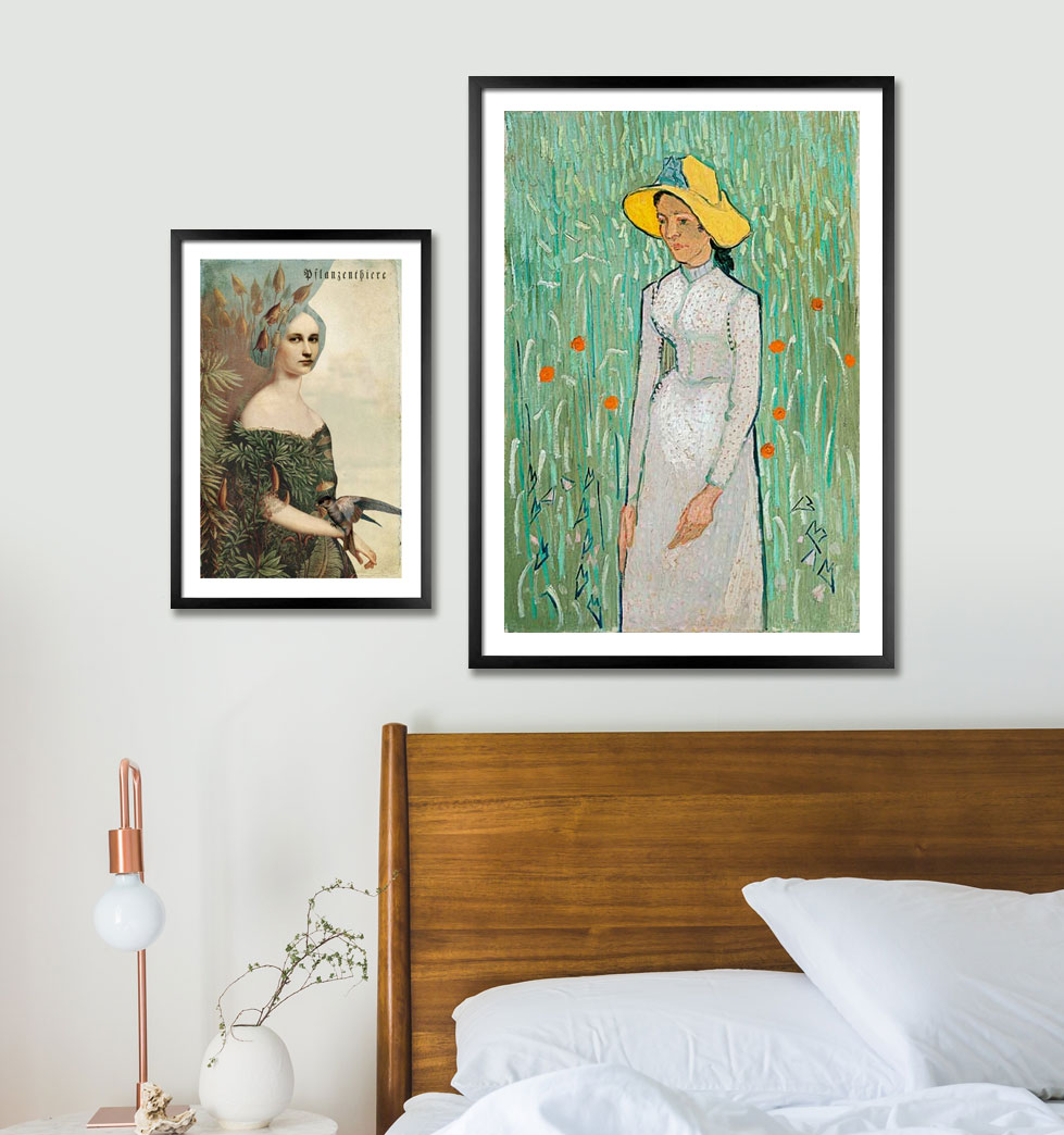 Art prints with frames
