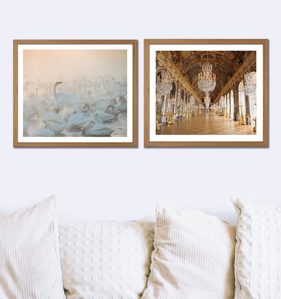 Graceful art for the home