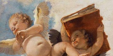Angel with book Giovanni Battista Tiepolo