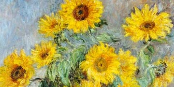 Sunflower Bouquet by Monet