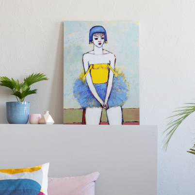 Buy online contemporary characters as murals