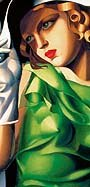 Tamara de Lempicka - Young lady with gloves