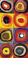 Wassily Kandinsky - Color Study: Squares with Concentric Circles