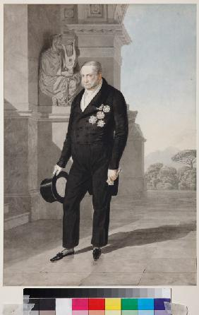 Portrait of King Francis I of the Two Sicilies (1777-1830)
