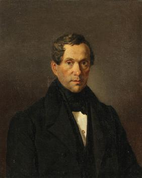 Portrait of the composer Count Matvey Vielgorsky (1794-1866)