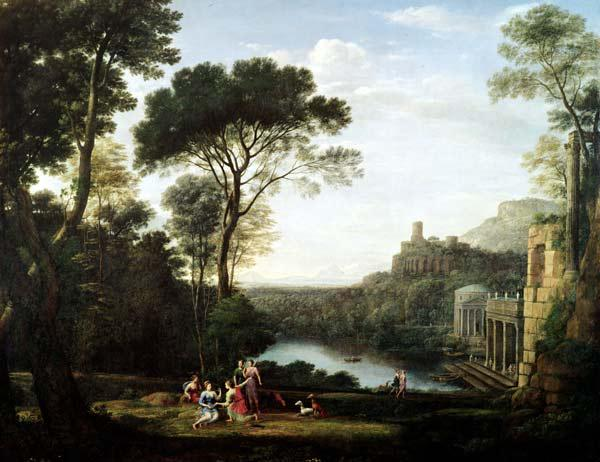 Landscape with the Nymph Egeria