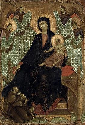 Virgin of the Franciscans, c.1300