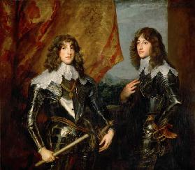 Prince Charles Louis and Rupert , Dyck