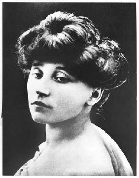 Colette (1873-1954) late 19th century (b/w photo)