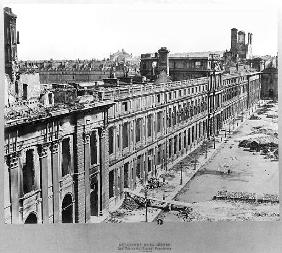 Disasters of War: The Tuileries during the Commune of Paris