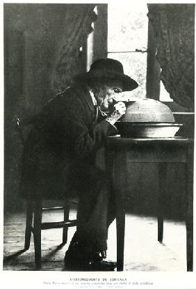 Jean-Henri Fabre (1823-1915) observing insects, from ''Souvenirs Entomologiques'', published in 1924