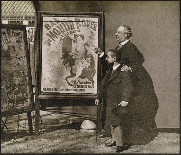 toulouse lautrec with tremolada from 39 39 french photographer as art print or hand painted oil. Black Bedroom Furniture Sets. Home Design Ideas