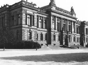 The Palace of the regional delegation at Strasbourg, c.1910 (b/w photo)