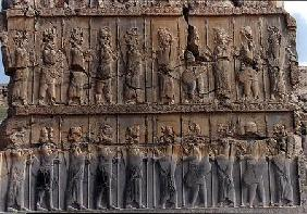 Persian soldiers, from the northern doorway of the Palace of Xerxes