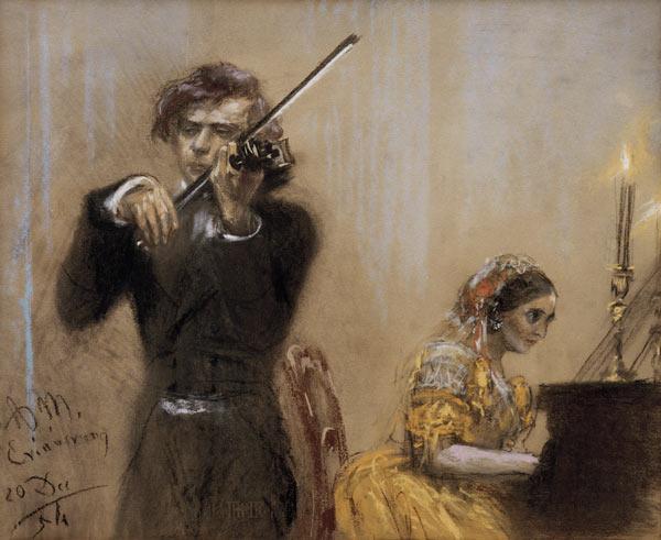 Briefe Von Clara Schumann : Clara schumann et joseph joachim en conc adolph
