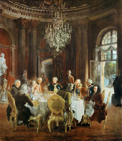 King Friedrichs II Roundtable in Sanssouci