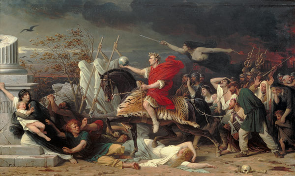 a comparison of louis xiv and julius caesar as powerful leaders