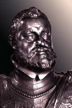 Rudolph II Holy Roman Emperor (1552-1612) detail of half length portrait bust