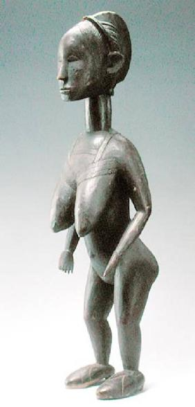 Baga Standing Female Figure from Guinea