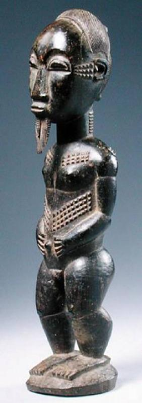 Baule Blolo Bian Figure from Ivory Coast