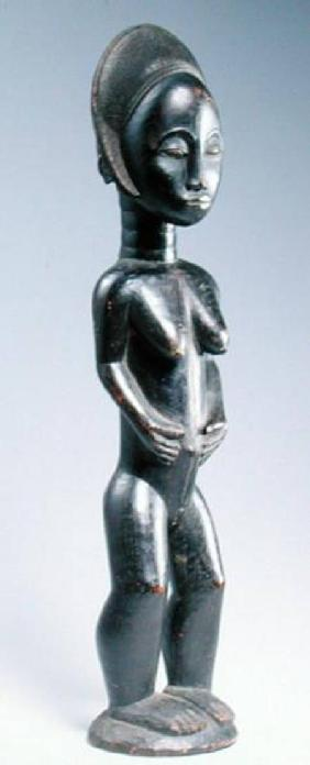 Baule Blolo Bla Figure from Ivory Coast