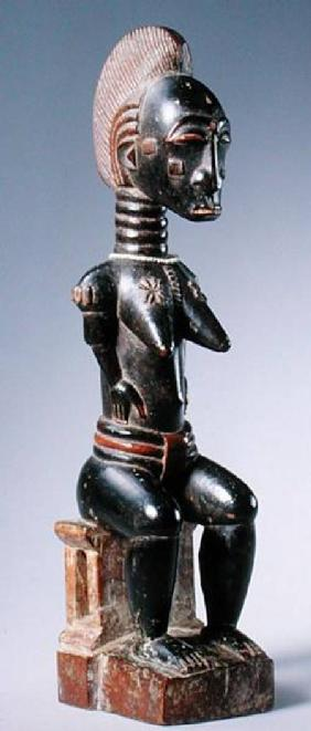 Baule Seated Female Figure