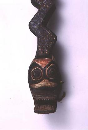 Bwa Snake Mask from Burkina Faso (detail)