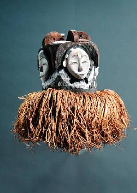 Ngontang Mask, Fang Culture, Gabon