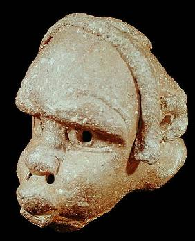 A Nok mask, from Nok, Nigeria