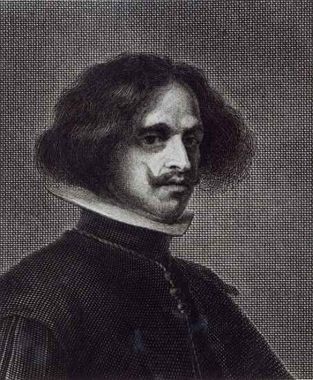 Self Portrait - (after) Diego Rodriguez de Sil as art ...  Velazquez Self Portrait