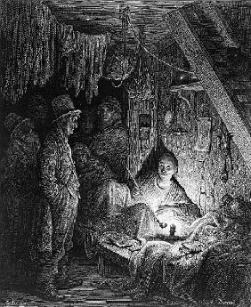 Opium Smoking - The Lascar''s Room, scene from ''The Mystery of Edwin Drood'' Charles Dickens, illus