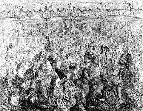The Stalls, Covent Garden Opera, from ''London, a Pilgrimage'', written by William Blanchard Jerrold