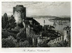 The Bosphorus, Constantinople; engraved by J. Godfrey