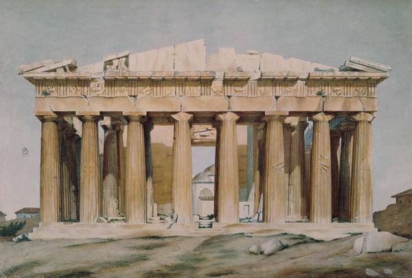The Parthenon, Athens, 1810-37