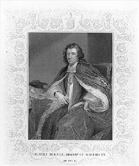 Gilbert Burnet, Bishop of Salisbury; engraved by H. Robinson