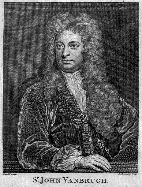 Sir John Vanbrugh; engraved by Thomas Chambars