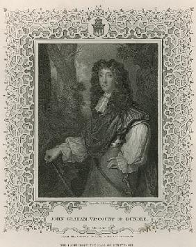 John Graham of Claverhouse, 1st Viscount of Dundee, from ''Lodge''s British Portraits''