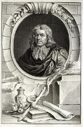Thomas Sydenham; engraved by Jacobus Houbraken (1698-1780) published by  in Amsterdam