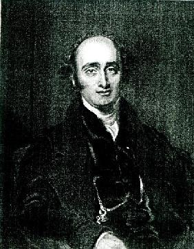 The Rt.Hon.John Wilson Croker; engraved by T.H Parry