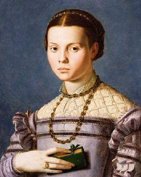 Portrait of a Young Girl Holding a Book c.1545