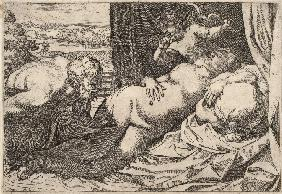 Satyr and Nymph