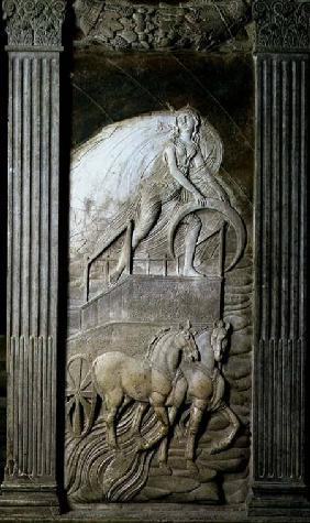 Diana or the Moon from a series of reliefs depicting the planetary symbols and signs of the zodiac