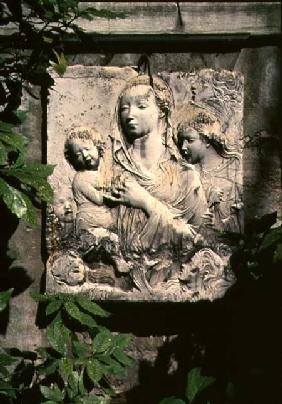 Madonna and Child, gesso cast from the altarpiece