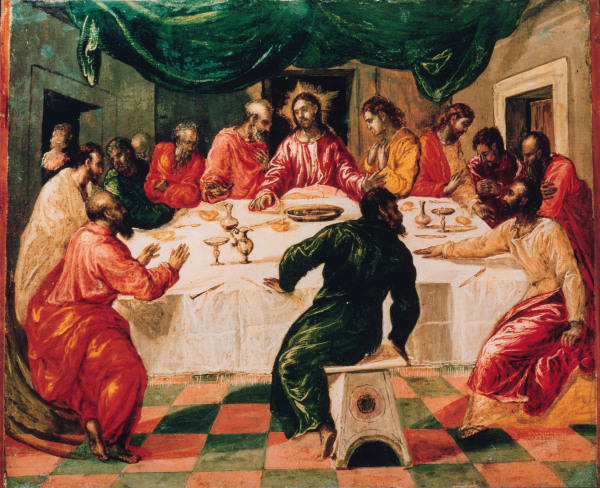 El Greco Last Supper C 1565 Artist Artist As Art