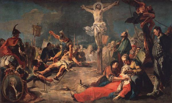Crucifixion tiepolo giovanni battista tiepolo as art for Carrelage giovanni bruxelles